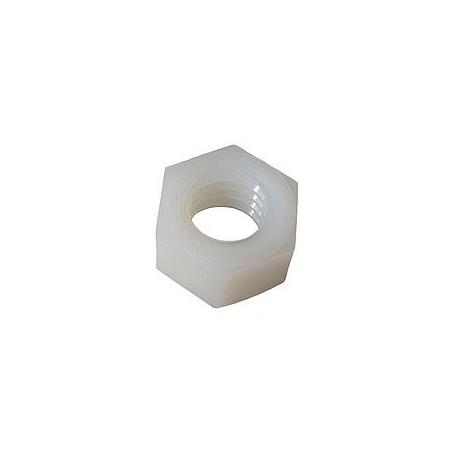 Ecrou pour lentille Sloan LED, 3/18-16, Hexagone, Nylon