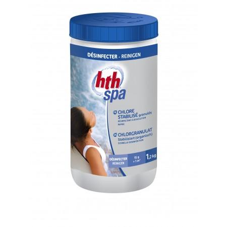 Chlore stabilisé granulés hth spa 1.2Kg