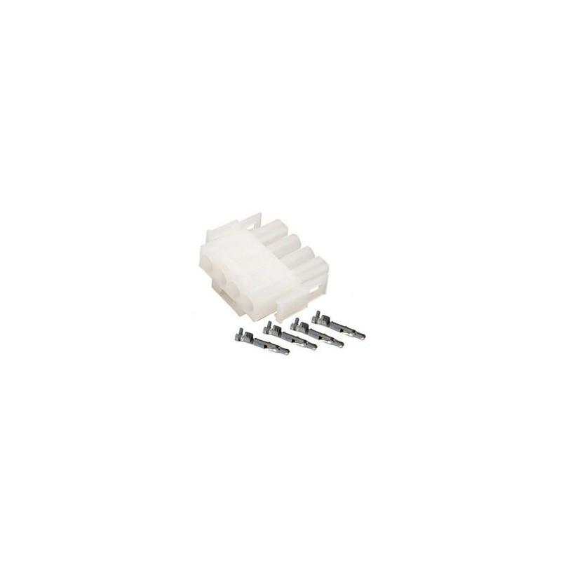 KIT AMP 4 pins male