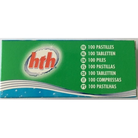 Pastilles photometre PH (red phenol) hth