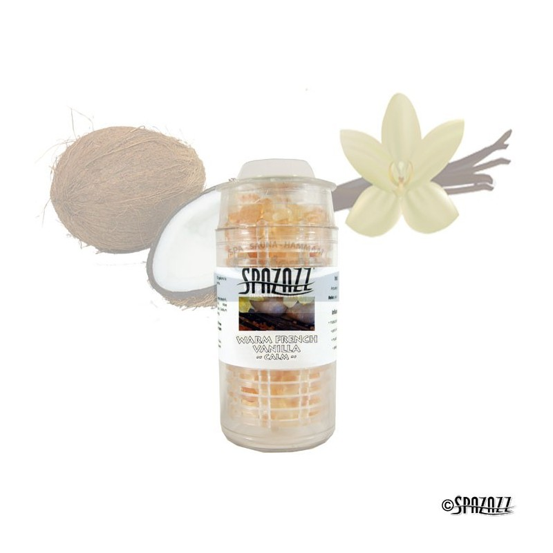 BILLES AROMATHERAPIE SPAZAZZ Warm French Vanilla (Calm)