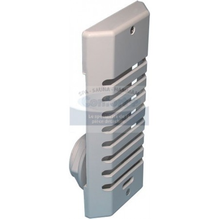 GRILLE SKIMMER BLANCHE sortie 1.5 pouce