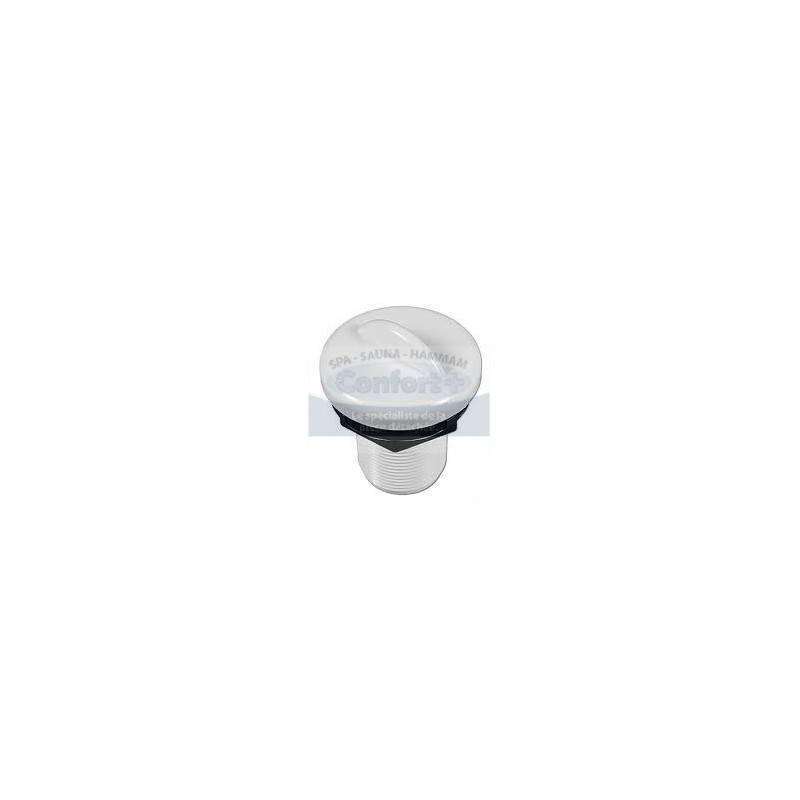 Air Control - Hydroair/Balboa 1 pouce blanche