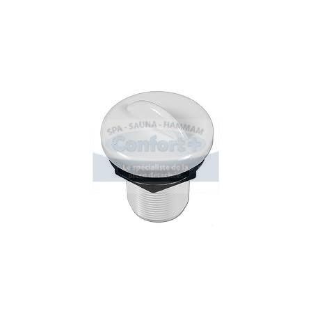 Air Control - Hydroair/Balboa 1 pouce grise