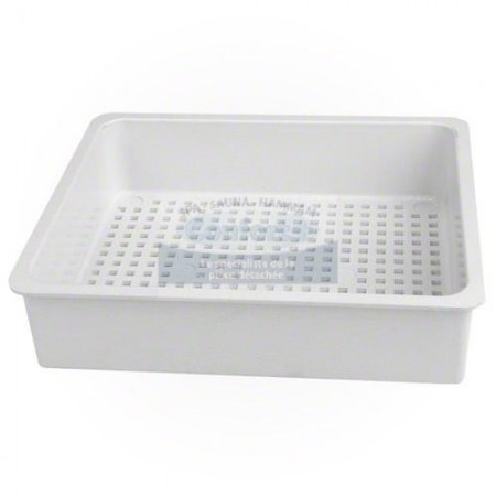 Panier skimmer waterway 50sq blanc
