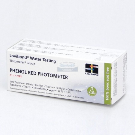 Lovibond® PH Red phenol Pastilles Photometre