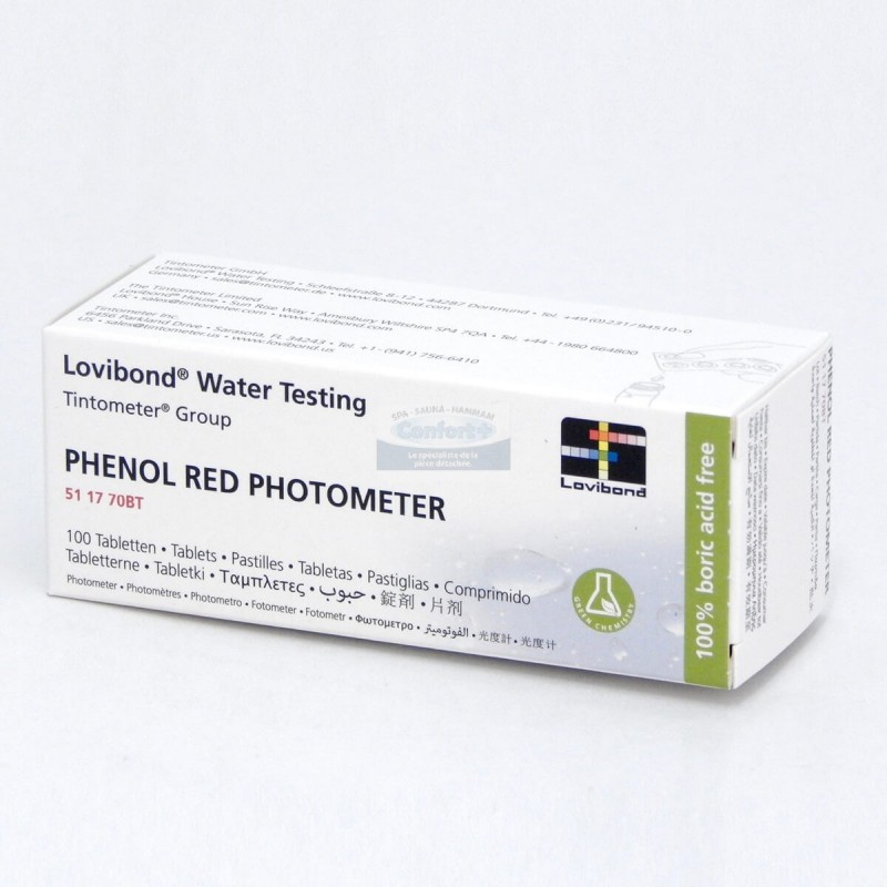 Lovibond® Red phenol ( PH ) Pastilles Photometre