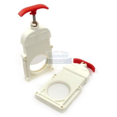 Vanne guillotine praher 2 pouces