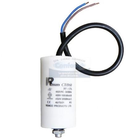 Condensateur pour pompe 8 µF avec fils