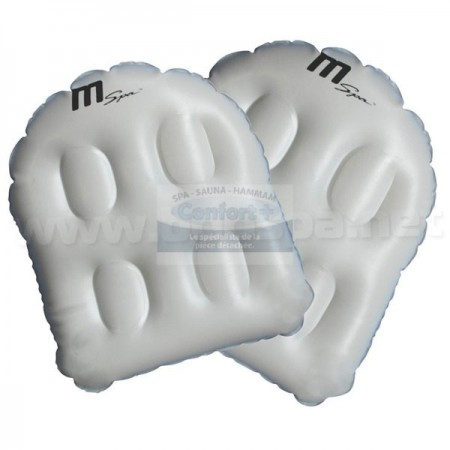 Coussin d'assise spa gonflable Mspa (lot de 2)
