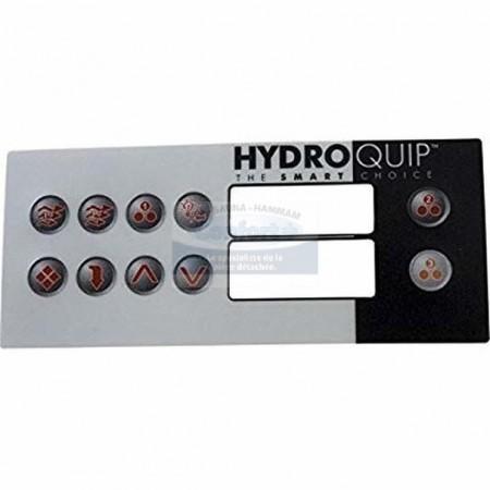 Hydroquip HT-2, revêtement seul 8 boutons