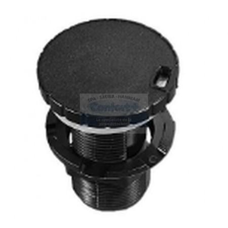 Vanne régulation d'air HydroAir ( 32 mm ) Noire