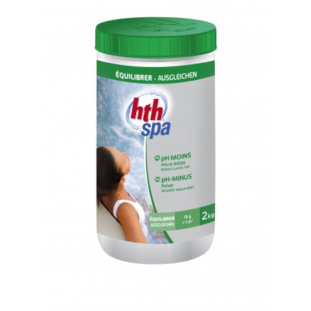 PH Moins HTH SPA micro-billes 2kg