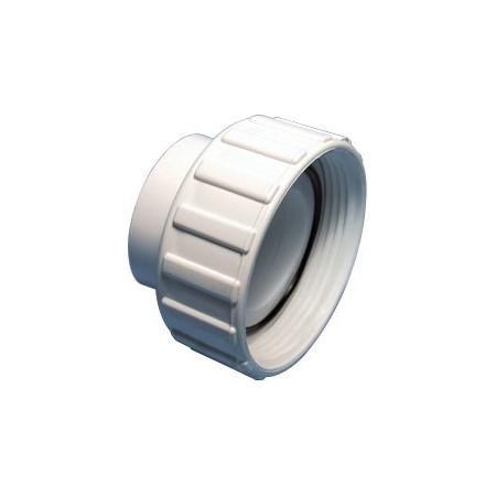 Raccord union avec joint torique pour tuyaux de 1,5 pouce.