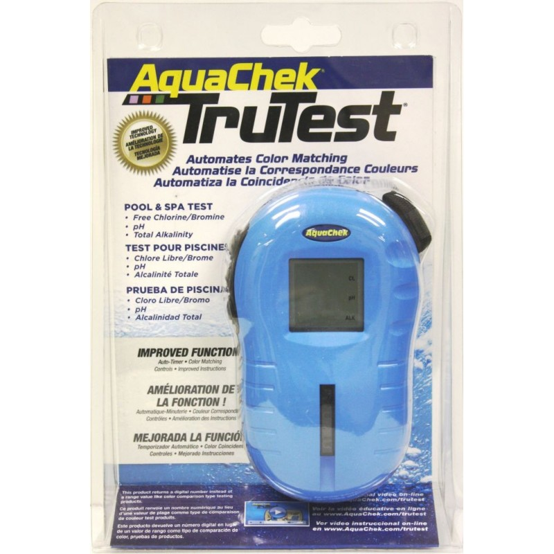 AquaChek TruTest Reader Chlore