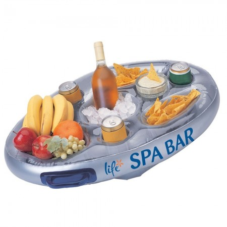 Spa bar plateau flottant