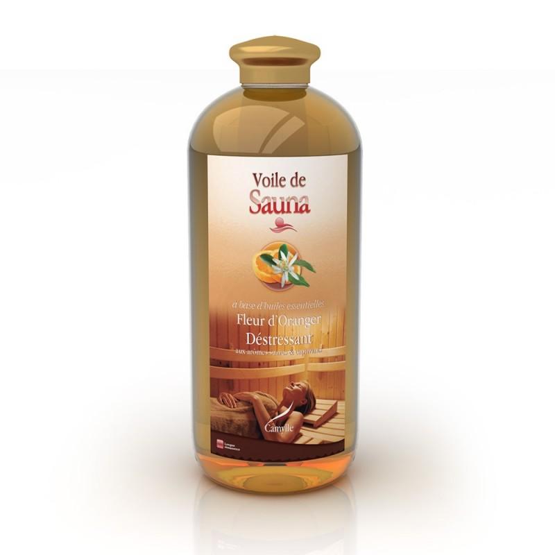 VOILE DE SAUNA Camylle - Fleur d oranger 1litre